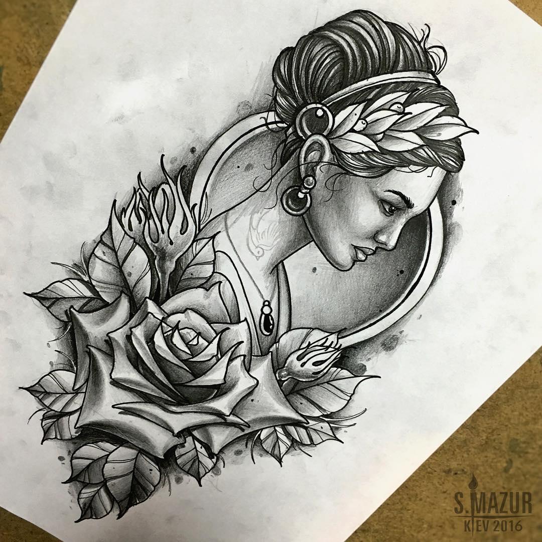Лучшие татуировки для девушек: фото, эскизы - Vse-o-tattoo