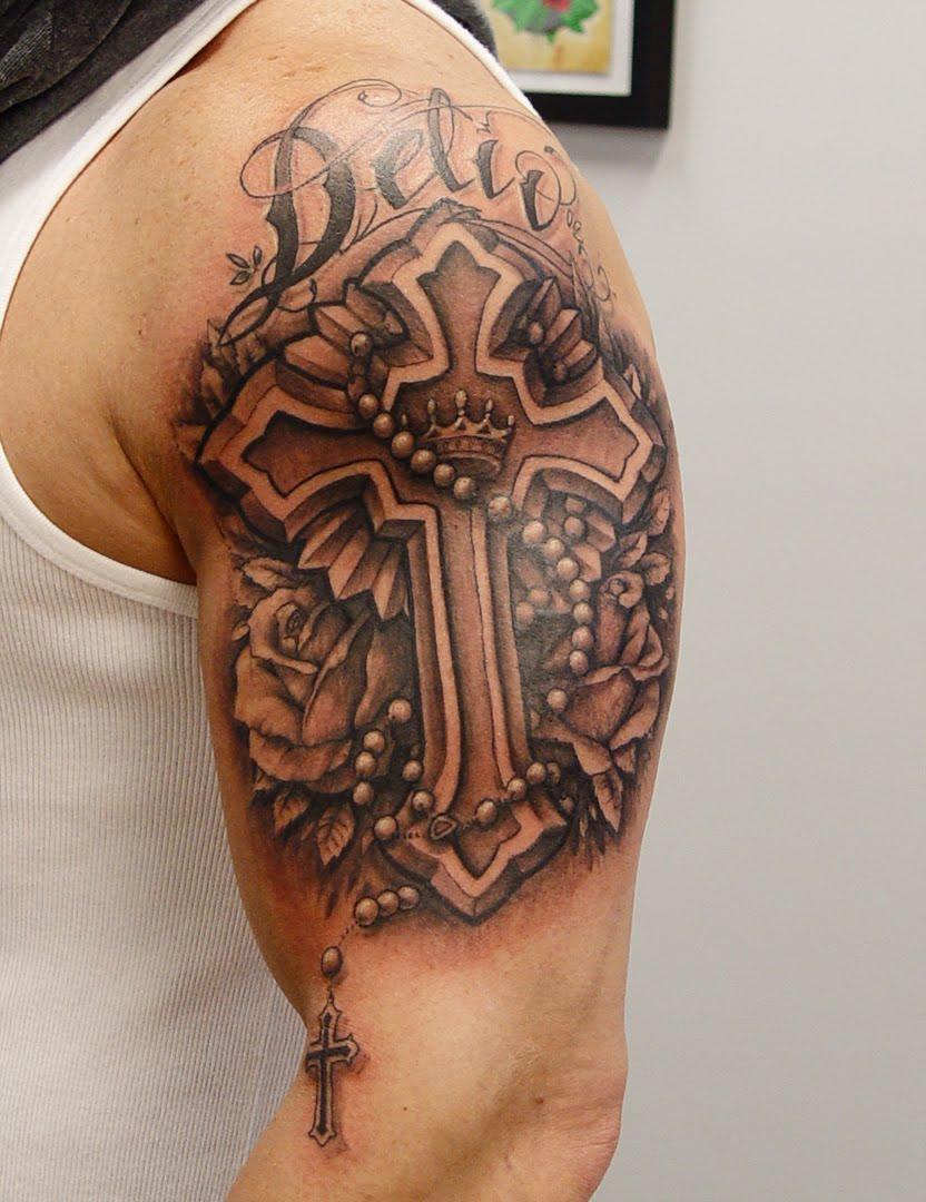 Тату кресты православные